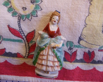 lovely petite woman figurine