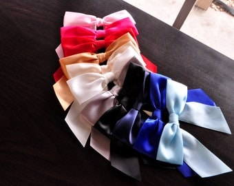 "5"" Bows with Twist Ties.  Ships in 2-3 Business Days.  Bows for Balloons and Bows.  Set of 10."