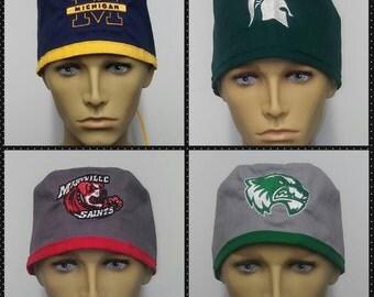 Michigan state, university of michigan, Maryville university, Utah Valley scrub hats