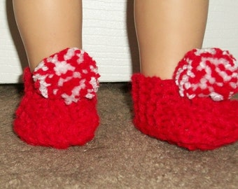"""American Made-18inch Doll Clothes  -  Slippers fit 18"""" dolls Such as AG"""