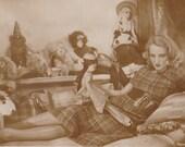 Brigitte Helm, Star of Metropolis, Lounges with Friends. Ross Verlag, circa 1930