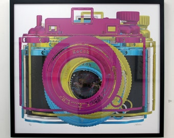 CMYK off reg is an original photograph transformed into a playful graphic.