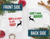 National Lampoon Gift | National Lampoons Christmas Vacation Mug | Funny Christmas Mug | Margo & Todd | Chevy Chase | Husband Gift Idea