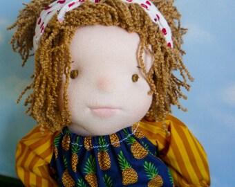 Luna, ooakdolls, art dolls, waldorf doll, fabilulidolls