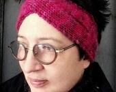 Knitting Pattern / Twist headband / pdf digital Instant Download
