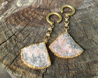 Ready To Ship - Natural Druzy Weights
