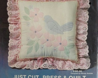 Veiled Quilting Kit – Just Cut, Press & Quilt – Flying Fingers Kit No. VQD-06