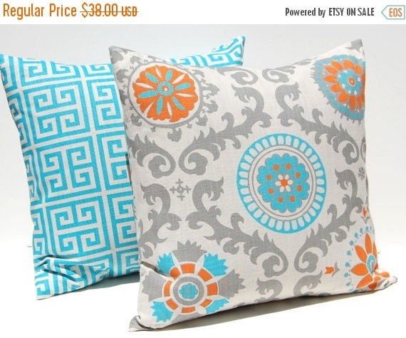 15 Inch Throw Pillow Covers : 15% Sale Decorative Throw Pillow Covers by CompanyTwentySix