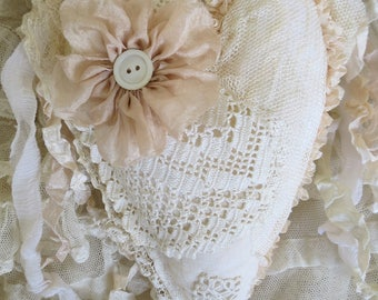 Lace Covered Heart