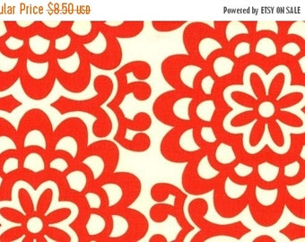 Christmas Sale Amy Butler Fabric - Wall Flower in Cherry 1 Yard