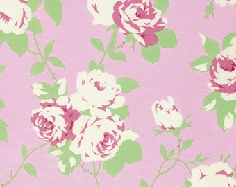 Chloe Rose Vine in Pink by Tanya Whelan  - 1 Yard