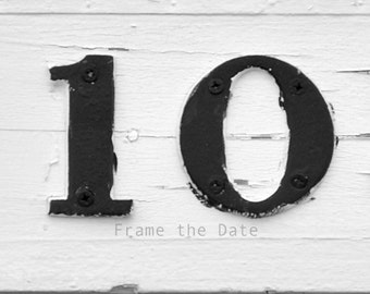 Photo of Number 10 - Date Photography -  Photo 10 - Frame the Date 4x6 digital photo