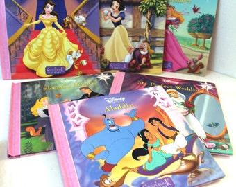 Disney Princess Books Disney Storybook Library - Volumes 5, 6, 7, 9, 10, & 11