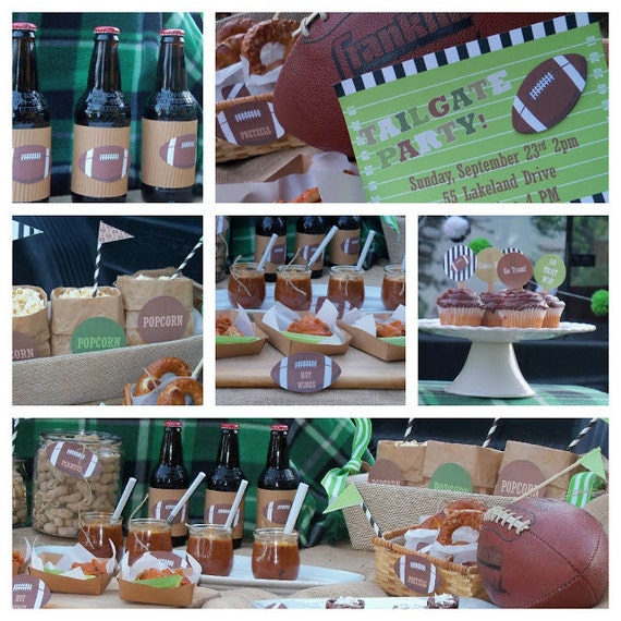 Football Themed Printable Party