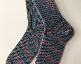 Knitted Women Socks , Supersock Select Potlucks, Cherry Tree Hill