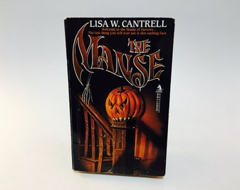 Vintage Horror Book The Manse by Lisa Cantrell 1987 Paperback