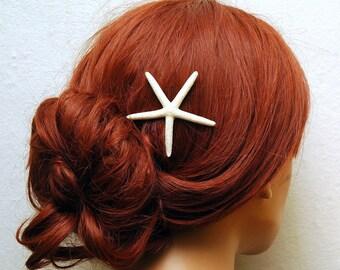 Starfish Bobby Pins, Beach Wedding Hair Pin, Beach Wedding Headpiece, Mermaid Headpiece, Nautical Wedding Hair Piece, Destination Wedding