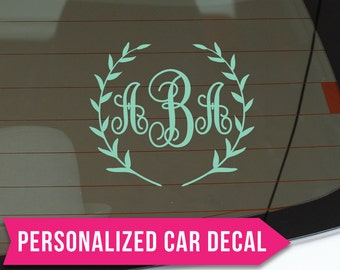 Car Stickers For Girls Etsy - Car decal stickers for girls