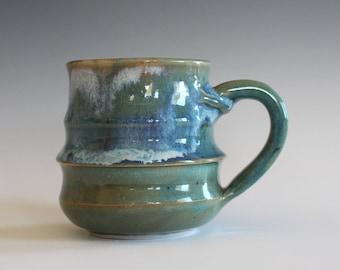 Pottery Mug, 8 oz, pottery mug, unique coffee mug, handmade ceramic cup, tea cup, coffee cup, handthrown mug, stoneware mug