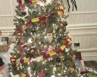 Cristmas tree scarf
