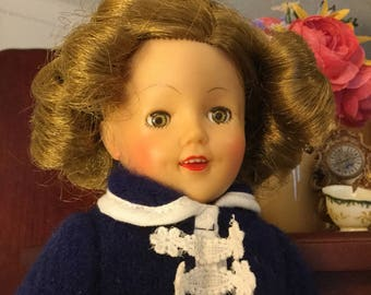 Excellent condition 1950s 12inch Shirley Temple doll