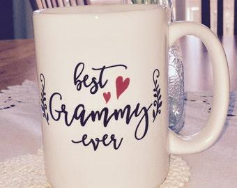 15 oz Ceramic Mug Best Grammy Ever
