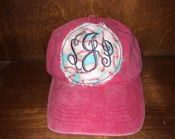 Monogram Baseball Hat