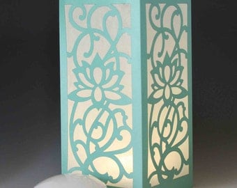 Laser cut Luminary #27 Lotus