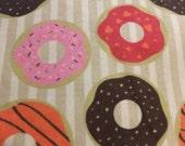 Donuts -  FLANNEL - Fabric - 1 yard