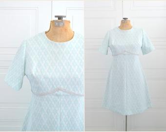 1960s Berkshire A-Line Dress