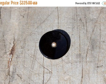 Spring SALE Victorian Mourning Brooch & Pendant  Oynx  14k Gold Pearl