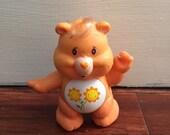 Care Bear Friend Bear Posable figurine PVC 80's toy flower bear