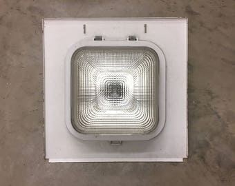 Vintage industrial light fixture