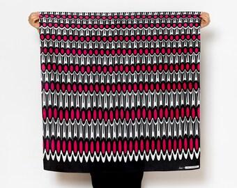 Ruffle Furoshiki. Japanese eco wrapping textile/scarf