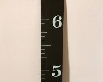 Growth Ruler Chart in Chalkboard Paint