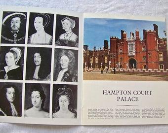 Vintage Hampton Court Palace Travel Guide Souvenir Booklet Pitkin Pictorials 1975