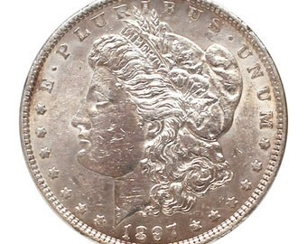 1897 U.S. Morgan Silver Dollar