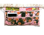 Bedside organizer flower themed