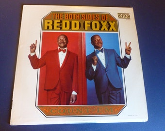 The Both Sides Of Redd Foxx Count' em Vinyl Record LS 5901 Stereo Warner Bros. Record
