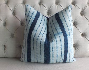 "18""x18"" Hmong Hemp Handwoven Fabric,Boho Batik, Scatter cushions and Pillows,"