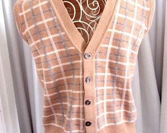 Vintage Jaeger vest, lambswool vest,man's Jaeger Vest, Jaeger London, vintage knit vest, Jaeger sweater vest, mans wool vest,Jaeger man