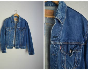vintage 60s type 3 III Levi's jean jacket -- size 40 -- mens small