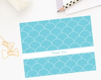 Beachy Scallops Note Cards