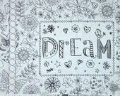 Crayola Coloring Pillow Panel Dream - Full Yard Panel