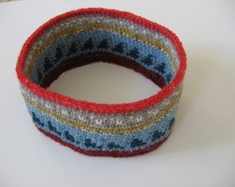 wool ear warmers ski headband medium-large
