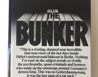 Vintage History Books, Vintage Books, Rare Book, Old Book, Books and Zines, Books on Hitler, The Bunker by James P. O'Donnnell