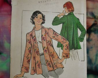 Vintage Pattern c.1960's Butterick No.3930 Jacket, Size 12