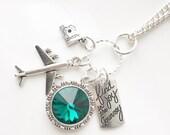 Find the Joy Swarovski Crystal Charm Necklace