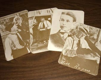 Will Rogers Post Cards - Set of Four