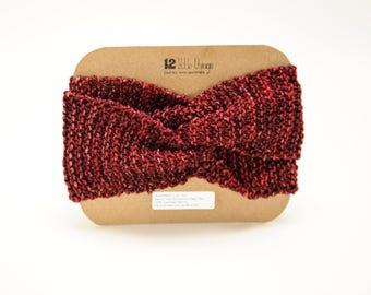 Boho Headwrap : Yoga Gift,Red Headband,Wide Yoga Headband,Yoga Clothes Sale,Hipster,Baby Clothes,Knit,Headwrap,Boho,Headband,Yoga,Topknot